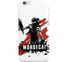 Mordecai iPhone Case/Skin