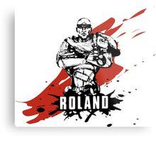 Roland Metal Print
