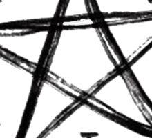 SuperNatural Painted Demon Trap Sticker