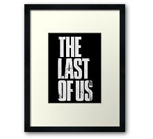 The Last of Us (Title) Framed Print