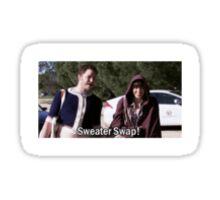 Sweater Swap Sticker