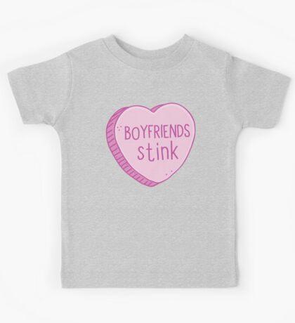 Boyfriends stink Kids Tee