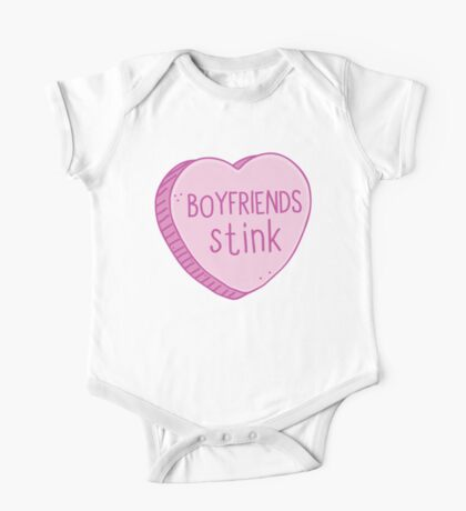 Boyfriends stink One Piece - Short Sleeve