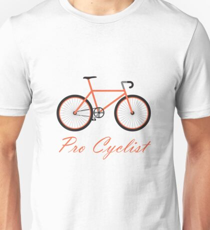 Pro Cyclist Natural Rider Unisex T-Shirt
