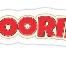 Boring- booring Sticker