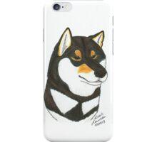 Black & Tan Shiba Inu iPhone Case/Skin