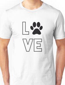 Dog lovers merchandise. Unisex T-Shirt