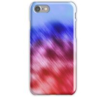 Red and Blue Jewel Glow iPhone Case/Skin