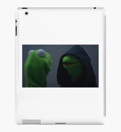 Evil Kermit Meme iPad Case/Skin