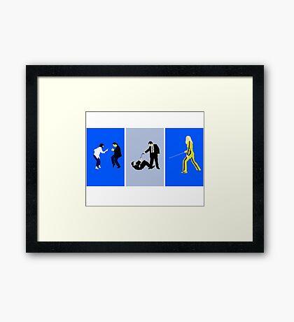 tarrentino inspired  design Framed Print
