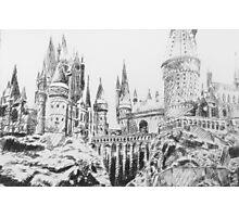 hogwarts castle Photographic Print