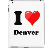 I Love Denver iPad Case/Skin