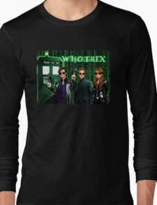 The Whotrix Long Sleeve T-Shirt