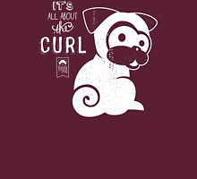 It's All About the Curl Tee (Vintage Look) Unisex T-Shirt