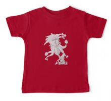 Showing Off Boldness (Original Drawing by Alice Iordache) Baby Tee