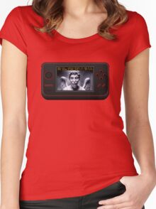 Weeping Angel Video Game Women's Fitted Scoop T-Shirt