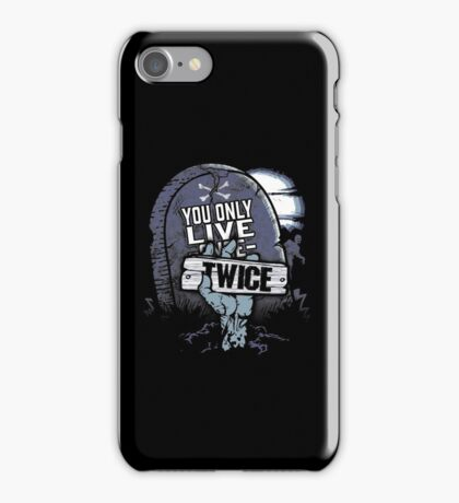 You Only Live Twice Zombie  iPhone Case/Skin