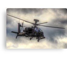 Mean Looking  Apache HDR - Dunsfold Wings and Wheels 2014 Canvas Print