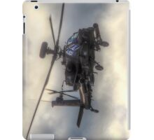 Mean Looking  Apache HDR - Dunsfold Wings and Wheels 2014 iPad Case/Skin