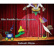 Talent Show Photographic Print