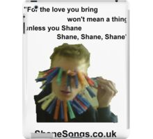 ShaneSongs iPad Case/Skin