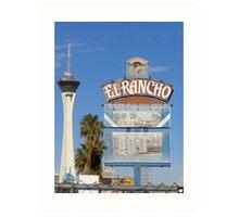 El Rancho Las Vegas Art Print