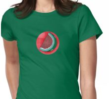 Watermellon Slice II Womens Fitted T-Shirt