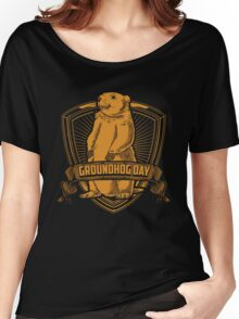 Groundhog Day With Groundhog Women's Relaxed Fit T-Shirt