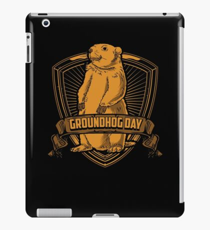 Groundhog Day With Groundhog iPad Case/Skin
