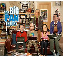 the BIG PAN THEORY Photographic Print