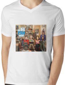 the BIG PAN THEORY Mens V-Neck T-Shirt