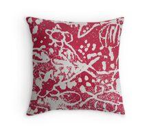 RED Grade One Throw Pillow