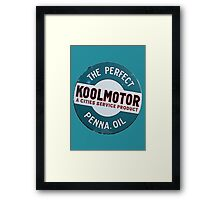 Koolmotor Penna Oil Framed Print