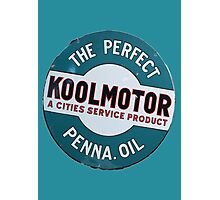 Koolmotor Penna Oil Photographic Print