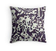 Purple Grade 1 Throw Pillow