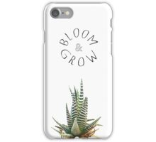 Bloom and Grow - Succulent iPhone Case/Skin