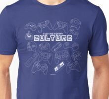 Video Game Controllers - I do this for my culture Unisex T-Shirt