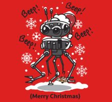 Imperial Droid Robot Christmas Holidays Special by DeepFriedArt