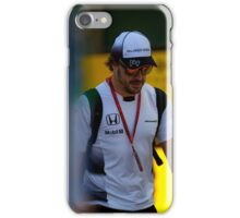 Fernando Alonso Formula 1 iPhone Case/Skin