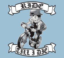 Pokemon Ride Till I Die  Kids Tee