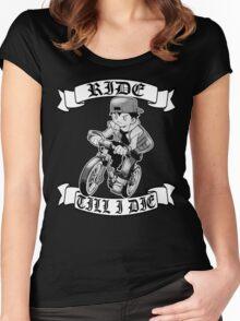 Pokemon Ride Till I Die  Women's Fitted Scoop T-Shirt