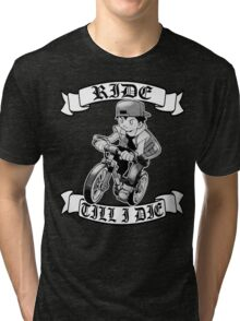 Pokemon Ride Till I Die  Tri-blend T-Shirt