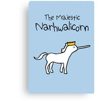 The Majestic Narwhalicorn Canvas Print