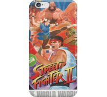 Street Fighter 2 (The World Warrior) iPhone Case/Skin