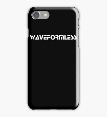 Waveformless Logo, Sequential Font iPhone Case/Skin