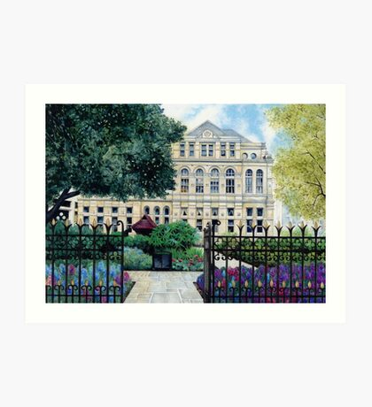 Old Library, Cardiff Art Print