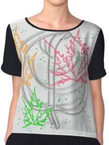 art flower abstract beauty backgrounds beautiful nature floral spring Chiffon Top