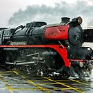 R707 - City of Melbourne Steam Train #2 by bekyimage