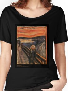 The Scream (with ukulele) Women's Relaxed Fit T-Shirt