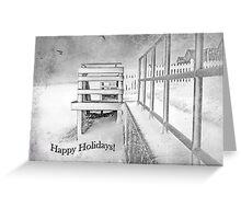 Happy Holidays ~ Greeting Card Greeting Card